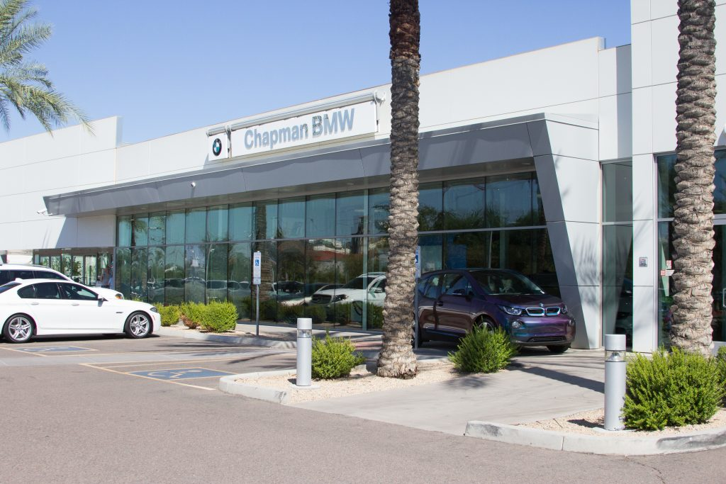 Chapman Bmw Project By Mckinney Glass In Phoenix Az